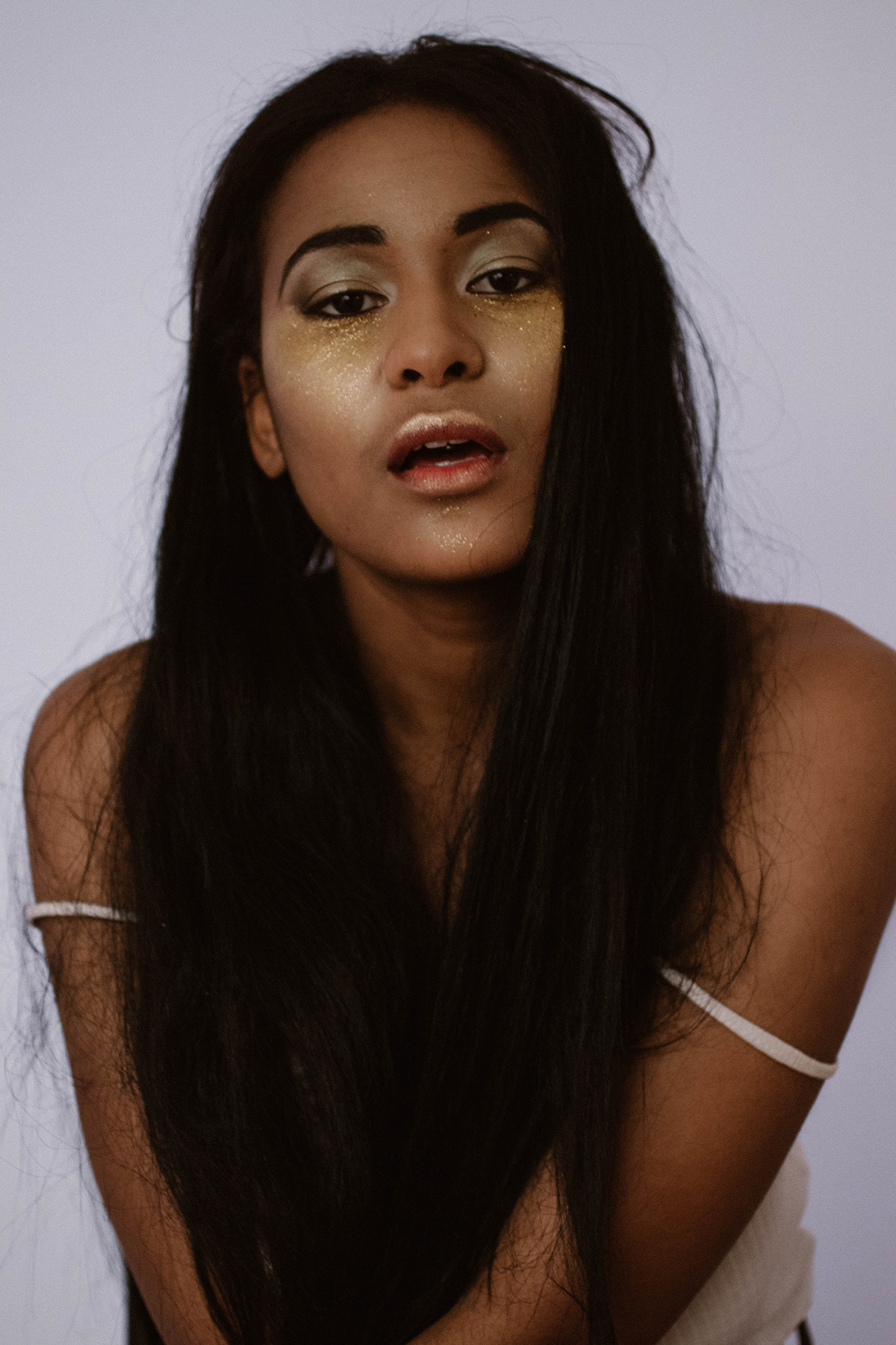 Syat Gold editorial by Marie-Eve Rose