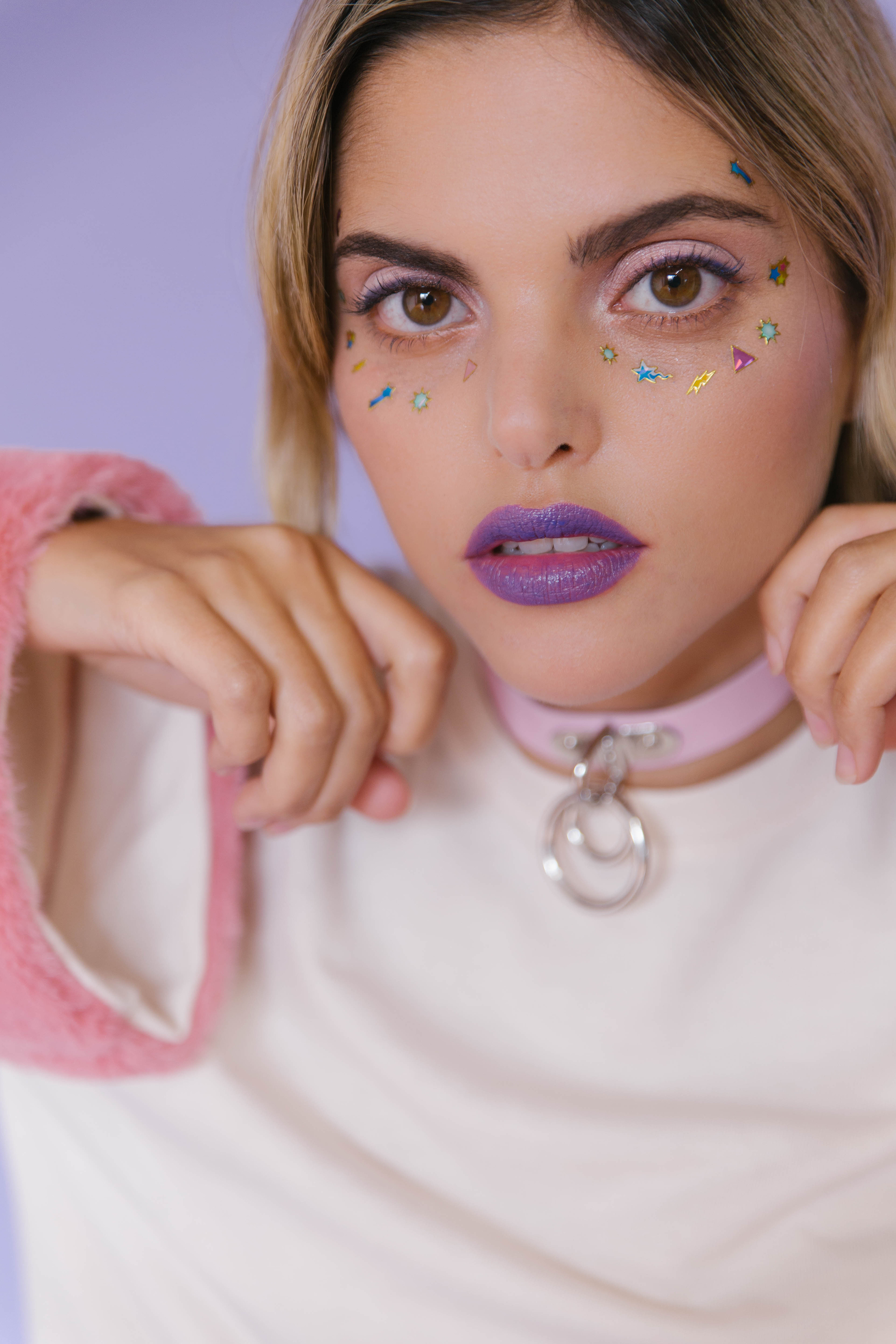 Candy Says Editorial by Marie-Eve Rose