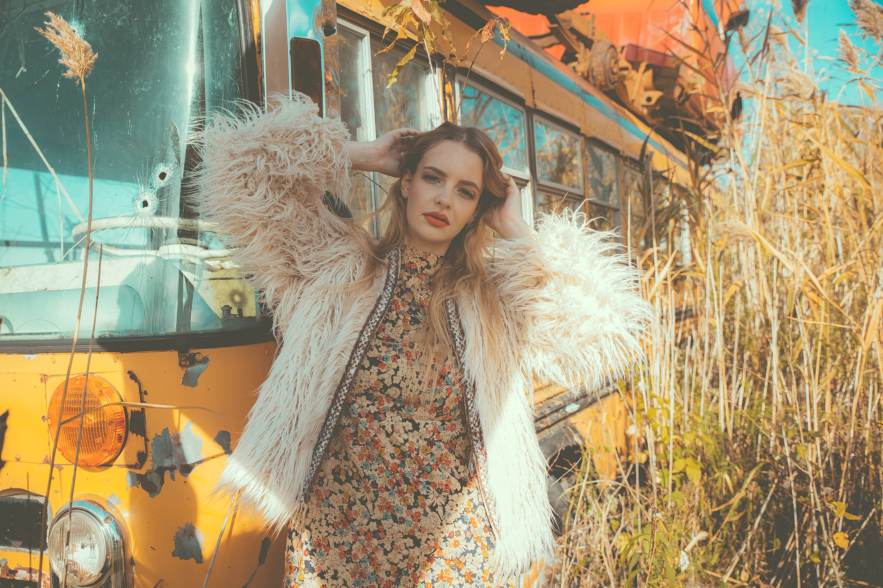 Autumn's Child - Editorial by Marie-Eve Rose