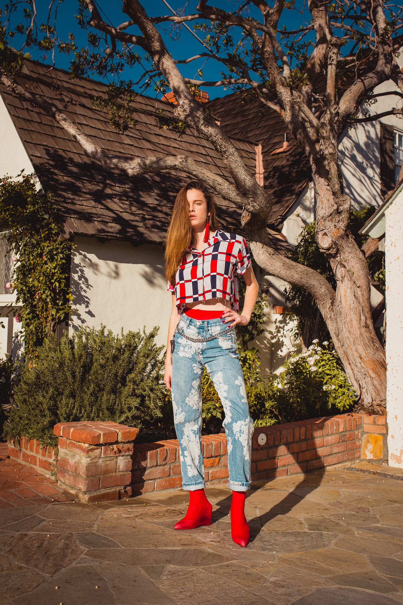 Sunny Delight - Editorial by Helen Merwin